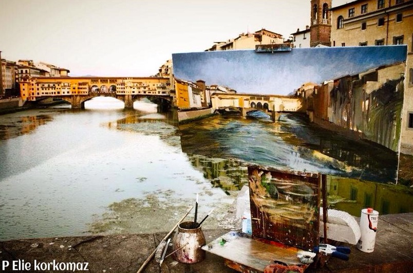 Painting Florence
