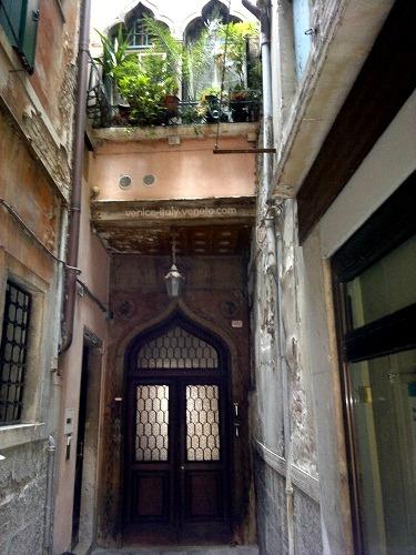 Doorway to Venice