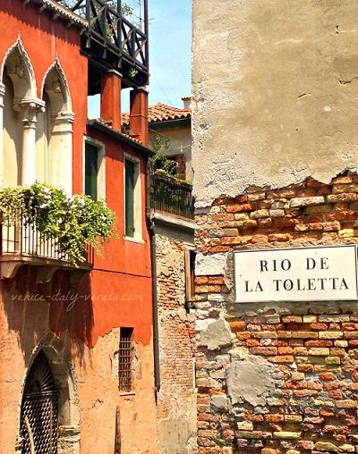 Dorsoduro one of the Sestriere of Venice Italy