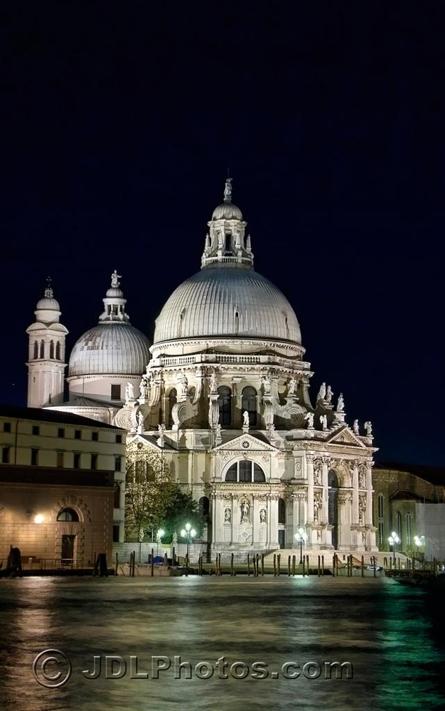 Santa Maria delle Salute by Jim DeLutes