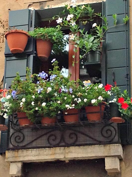 A window on Italy