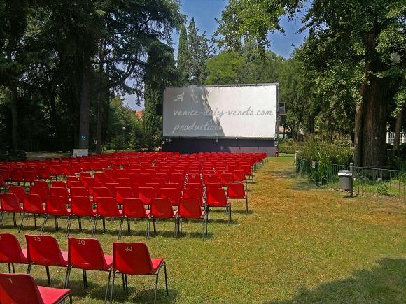 Italian open air cinema