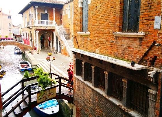 View over Rialto Venice
