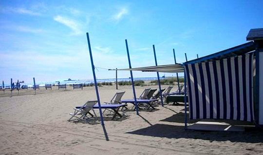 Beach near Venice