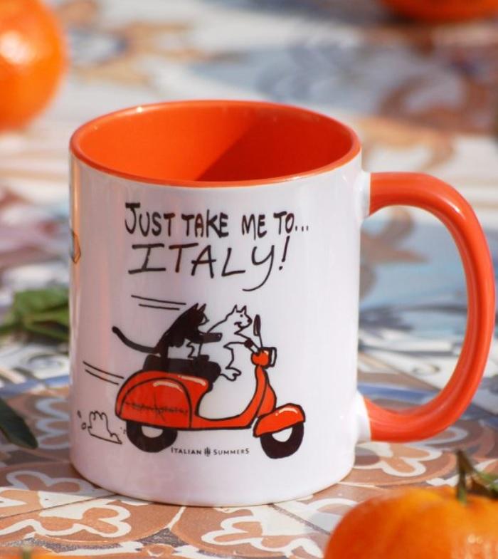 Ceramic Mug from Italy