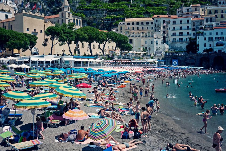 Marina Grande di Amalfi by Susan Papazian