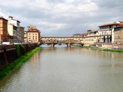 Ponte Vecchio in Florence Italy