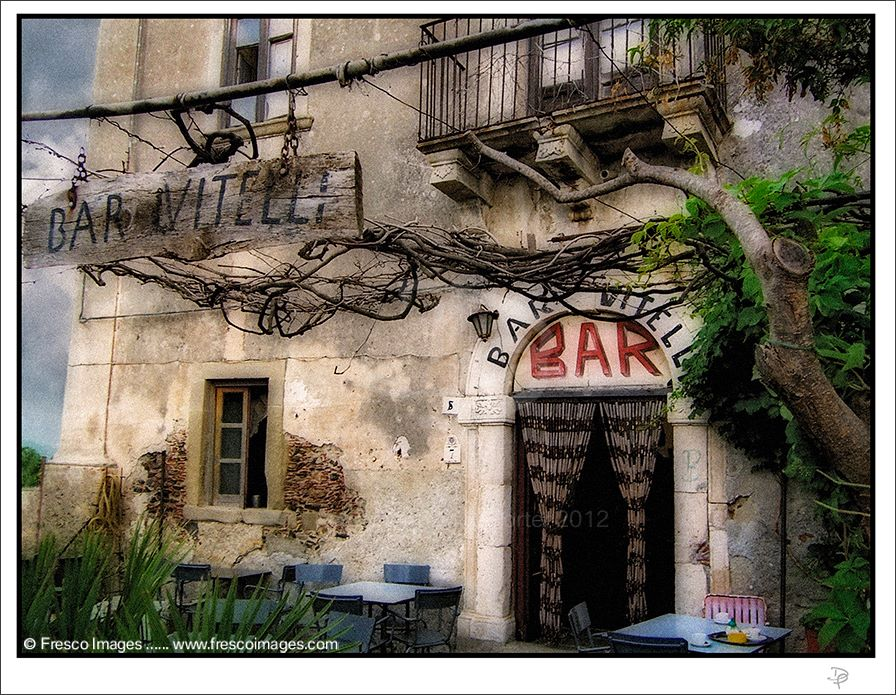 Bar Vitelli - the bar in the Godfather movie. Photo by Doug Porter.