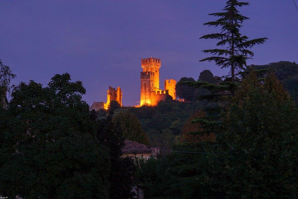 Scaliger Castle near Borghetto