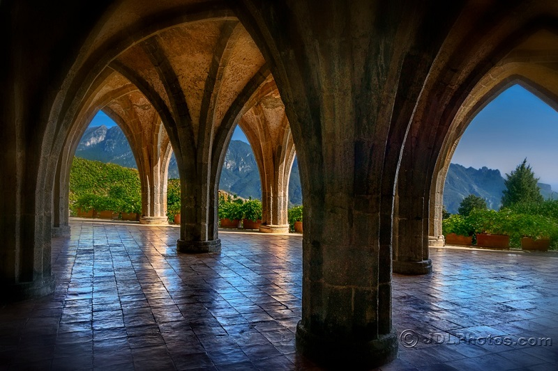 Arches in Ravello