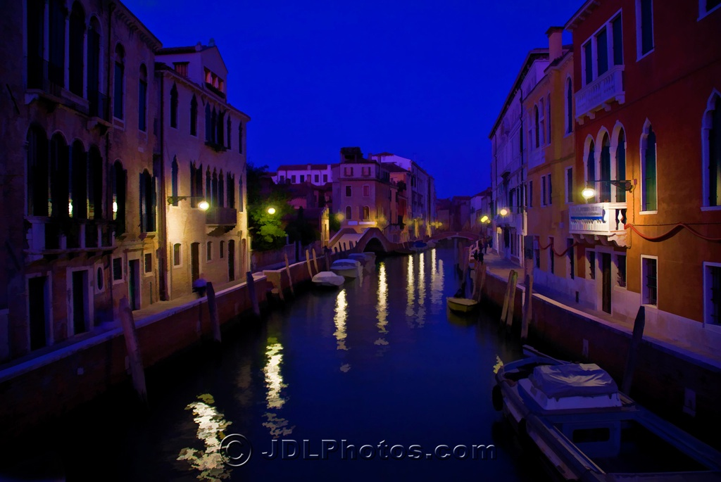 Night on the Canals of Venice