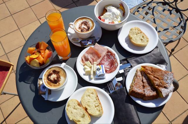 Breakfast in Italy
