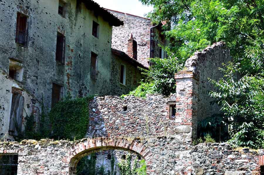 Ruins, Breganze, Italy