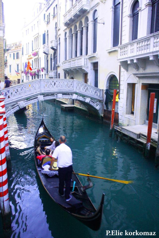 A Gondola Trip in Venice