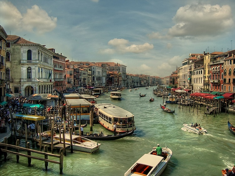 Grand Canal Venice by Alexander Strahilov