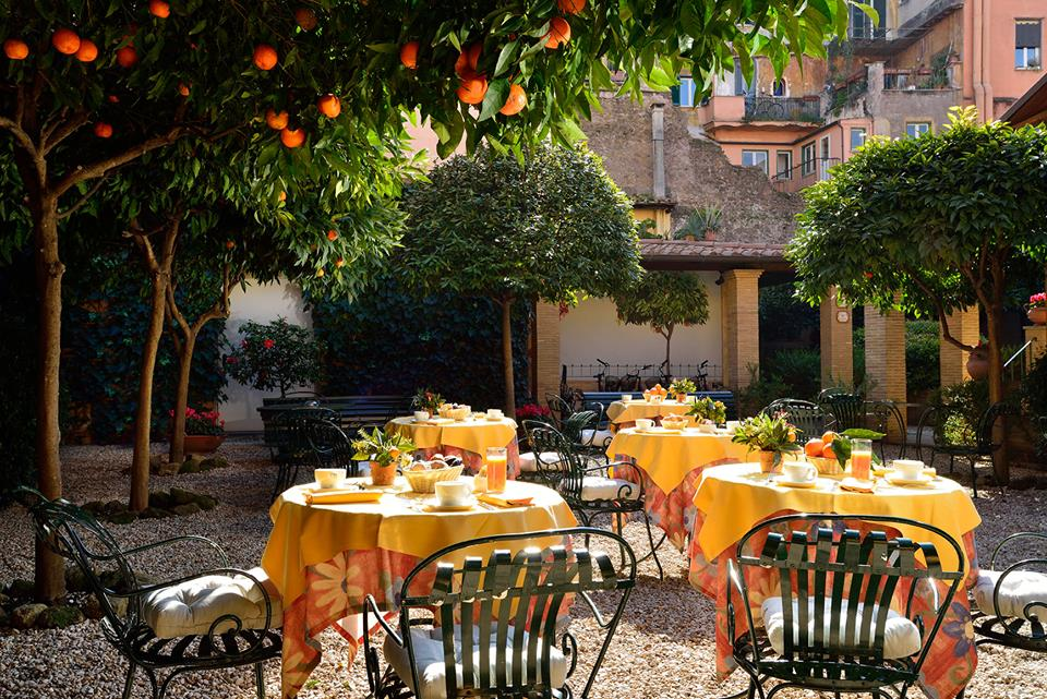 The best hotel in central rome for Hotel trastevere rome