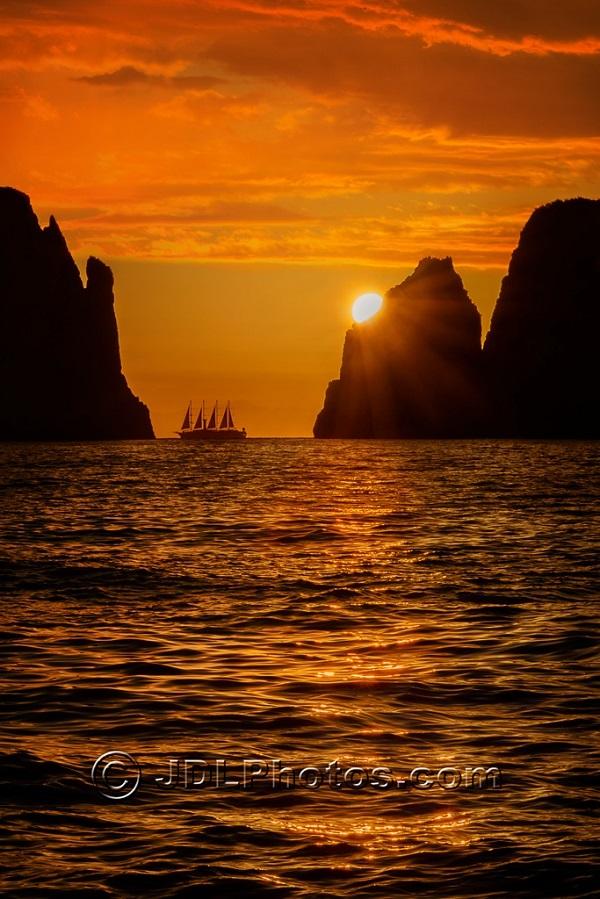Dawn over Amalfi