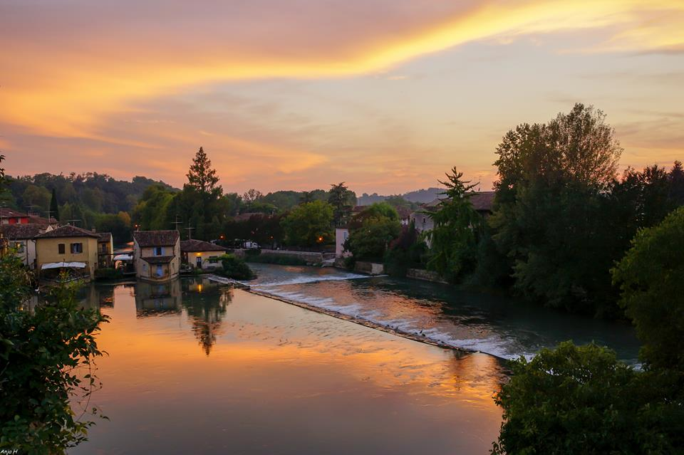 Sunset in Borghetto
