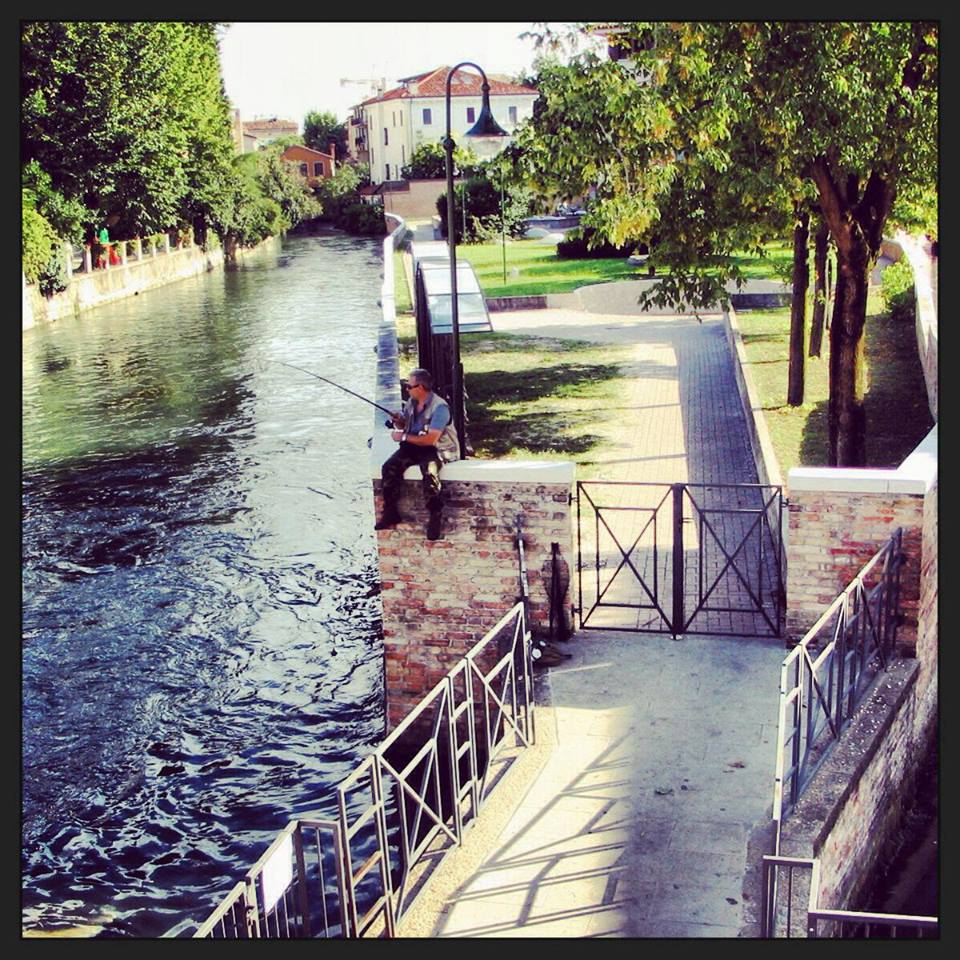 Treviso Canal by Jill Boff