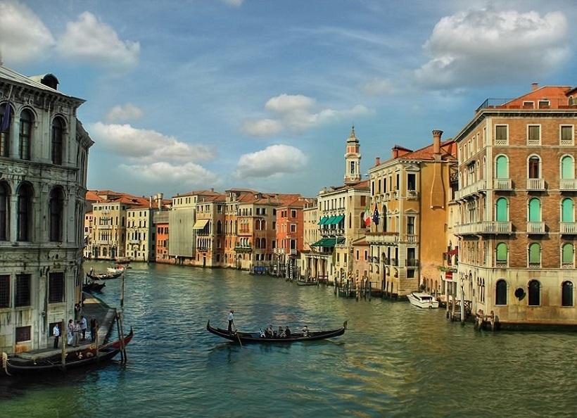 Venice Grand Canal by Alexander Stahilov