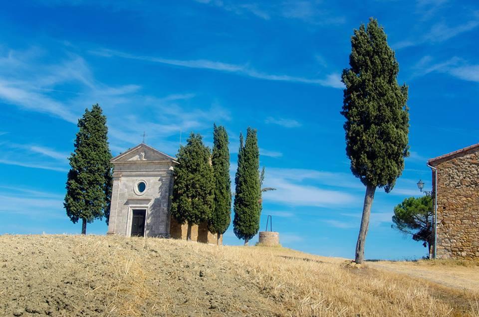 Vitaleto Chapel in San Quirico d'Orcia
