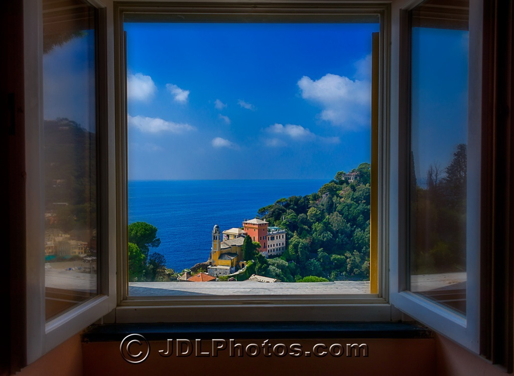 Window on Italy by Jim DeLutes