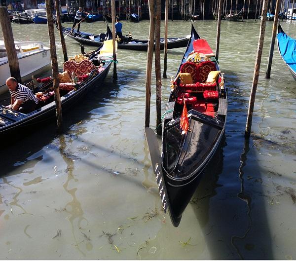 A Venetian Gondola