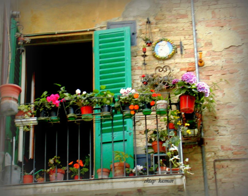 Balcony in Tuscany