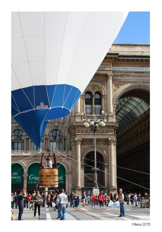Milan and Balloon