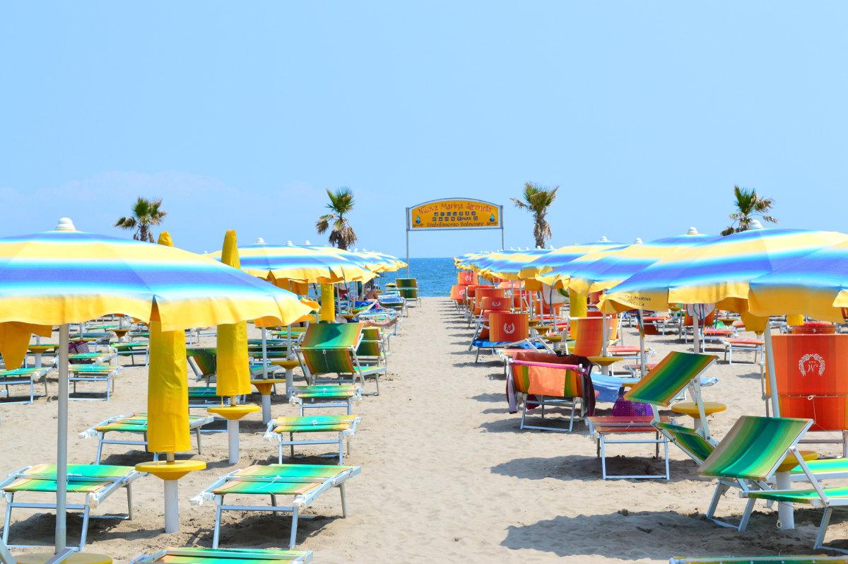Beach near Venice, Italy