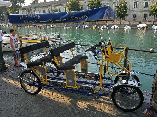 Tanden Bicycle Lake Garda