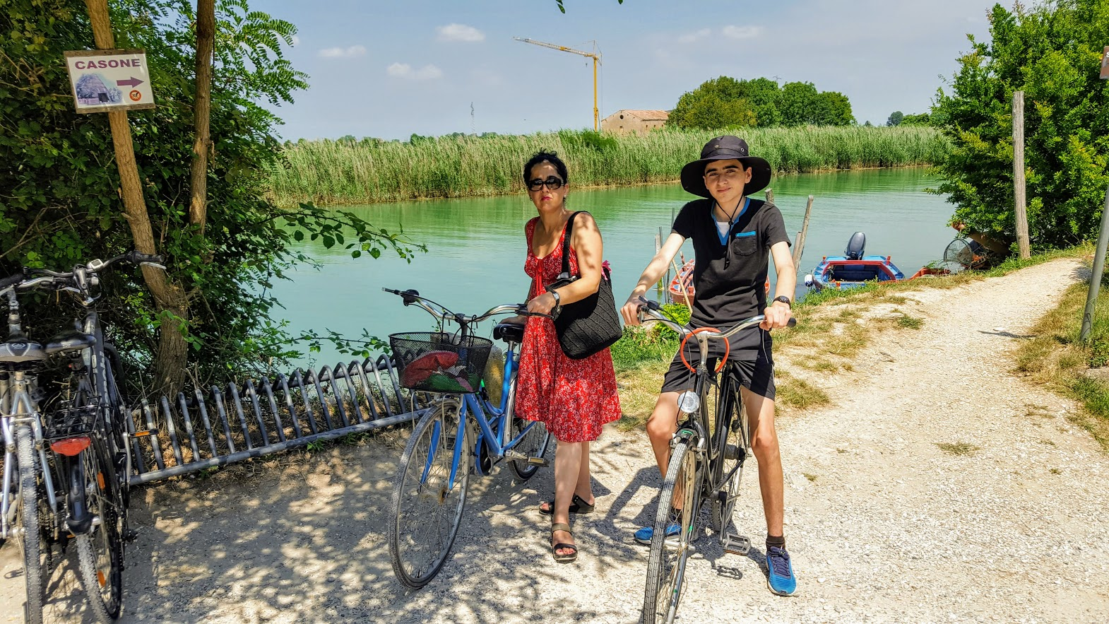 Cycling in Caorle
