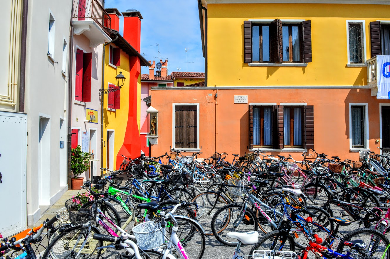 Bicycles in Caorle