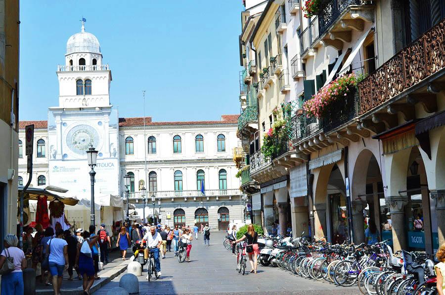 Bicycles in Padua