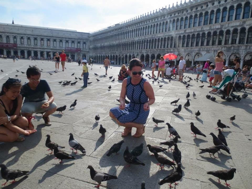 Pigeons in St. Marks