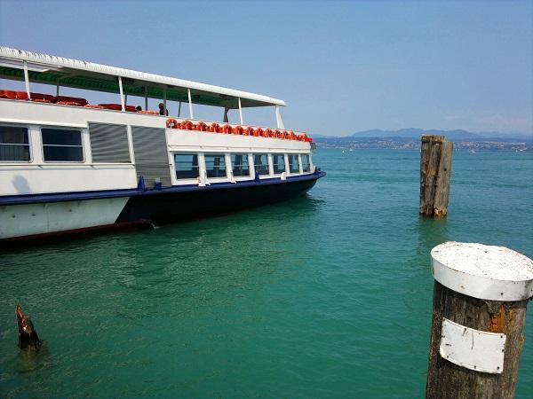Boat on Lake Garda - Veneto Italy