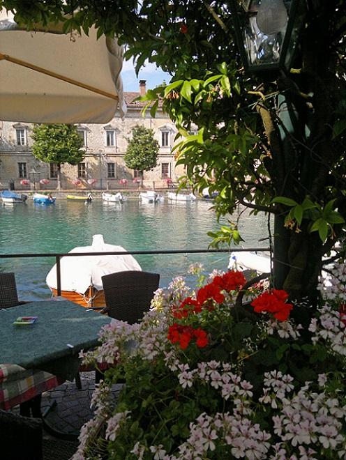 Flowers Lake Garda
