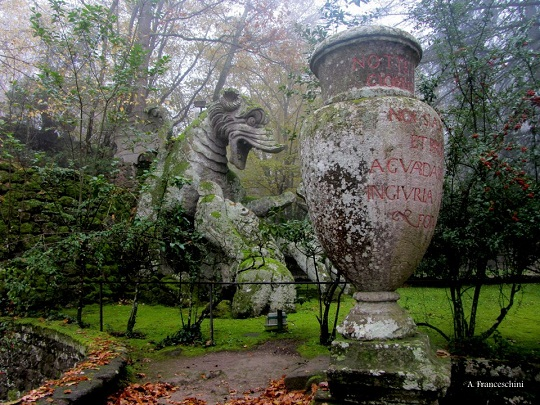 Bomarzo Gardens Park of Monsters