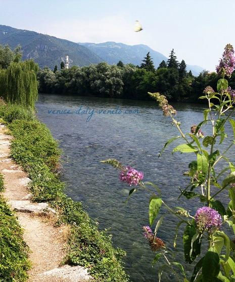 Bassano and Brenta River