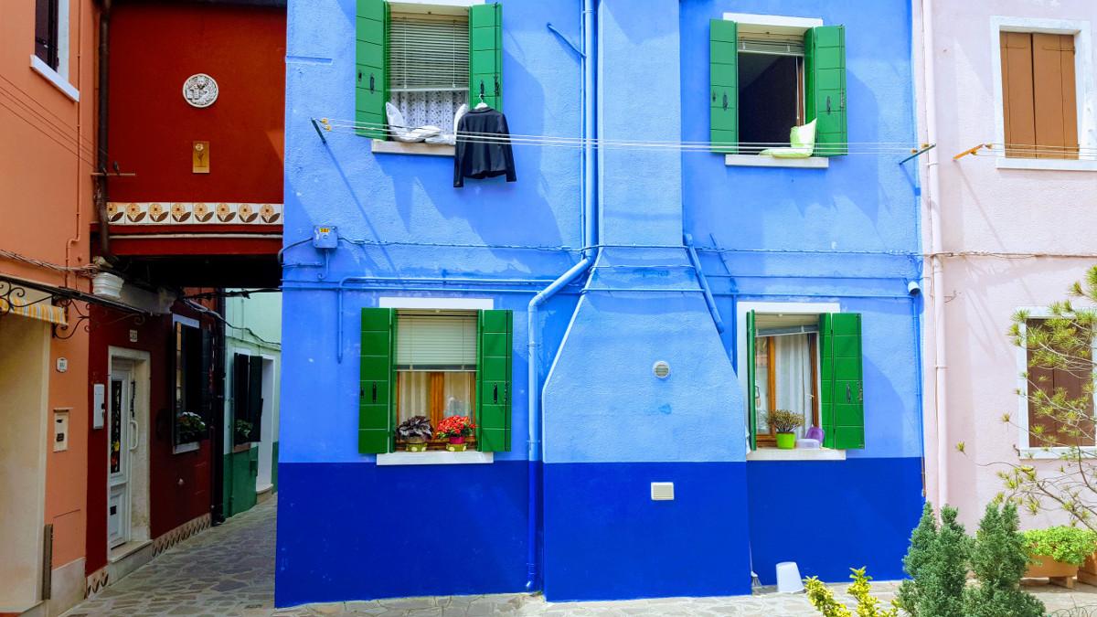 Street in Burano