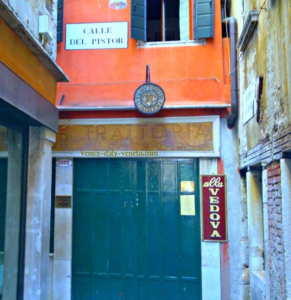 Trattoria Vedova Cannaregio Venice