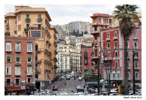 Naples Chaotic streets