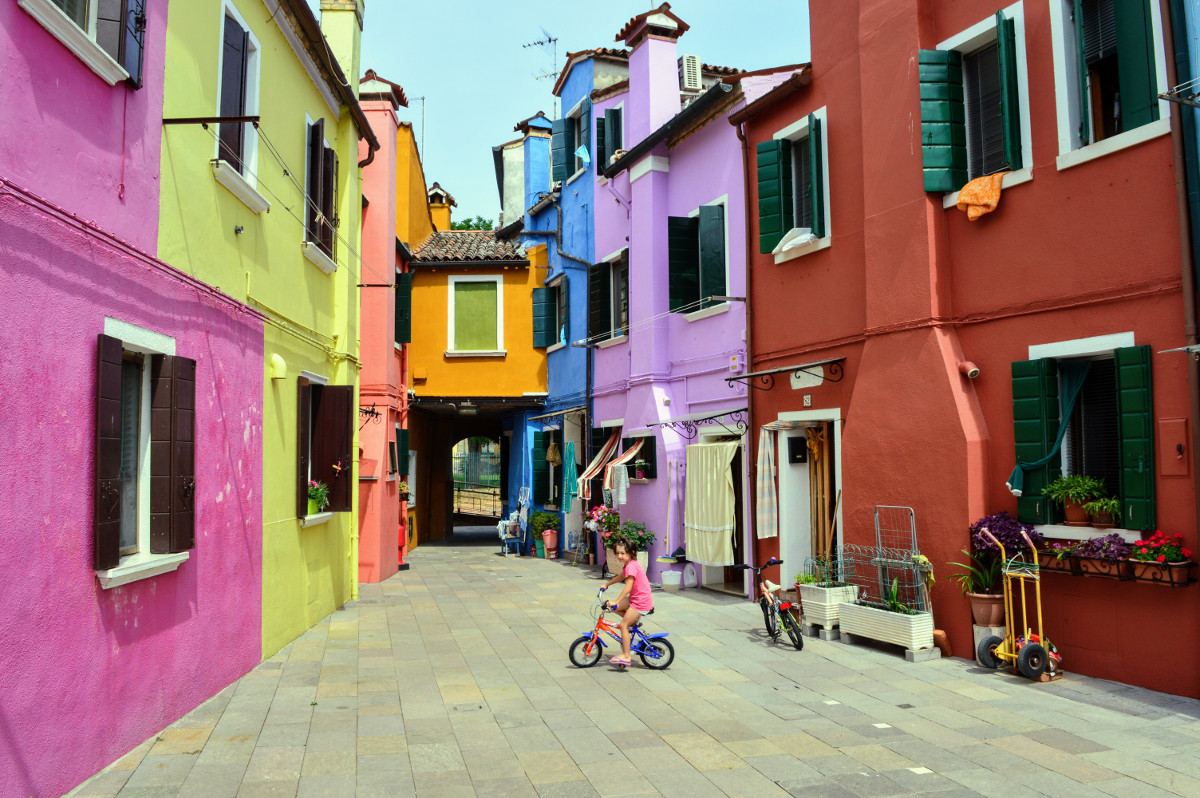 Backstreets of Burano