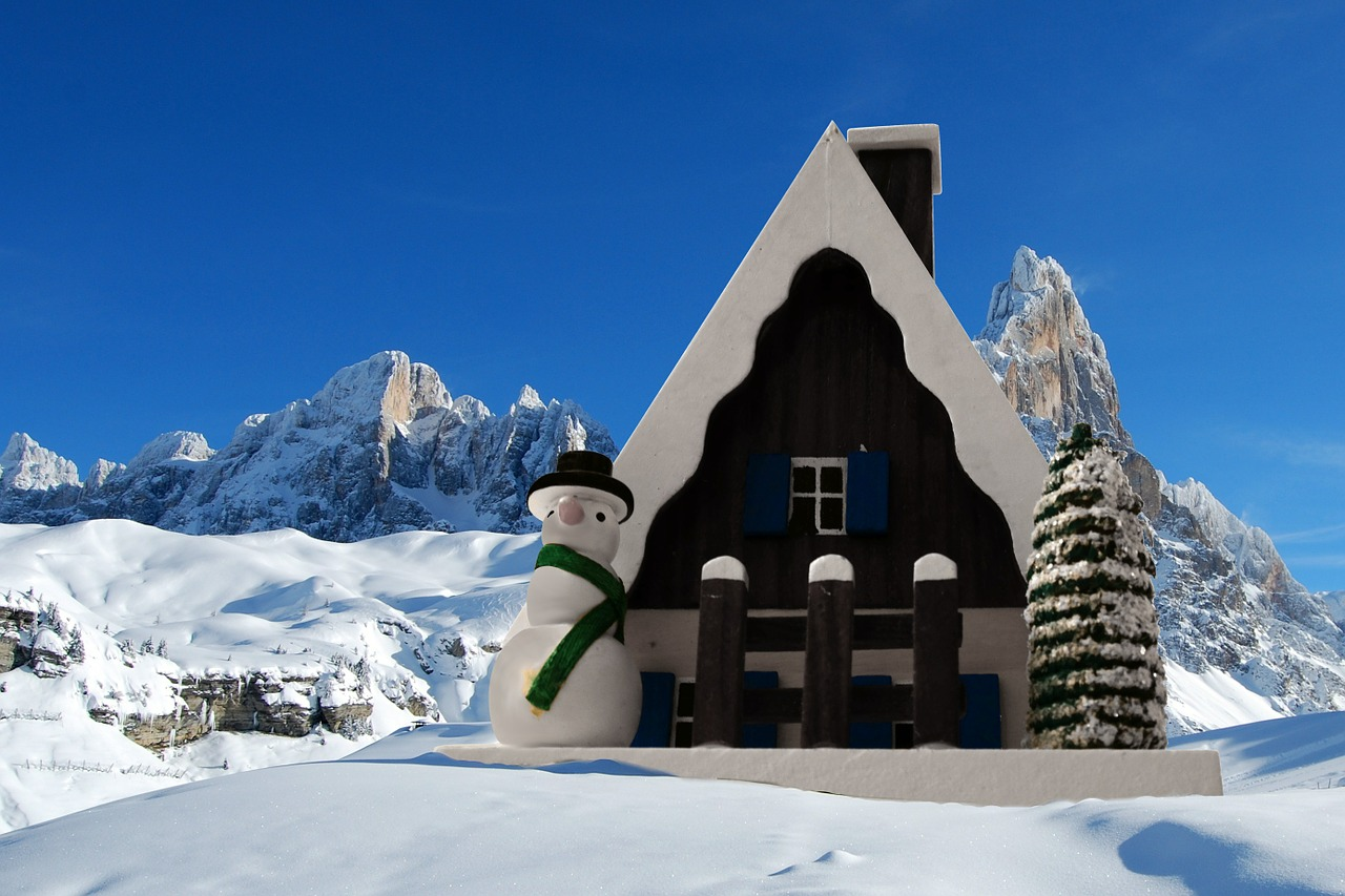 Christmas in the Dolomites