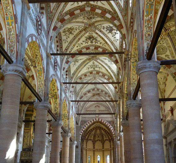 Veronese Church interior Italy