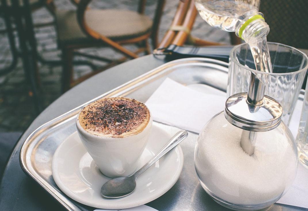 Coffee Break in Rome