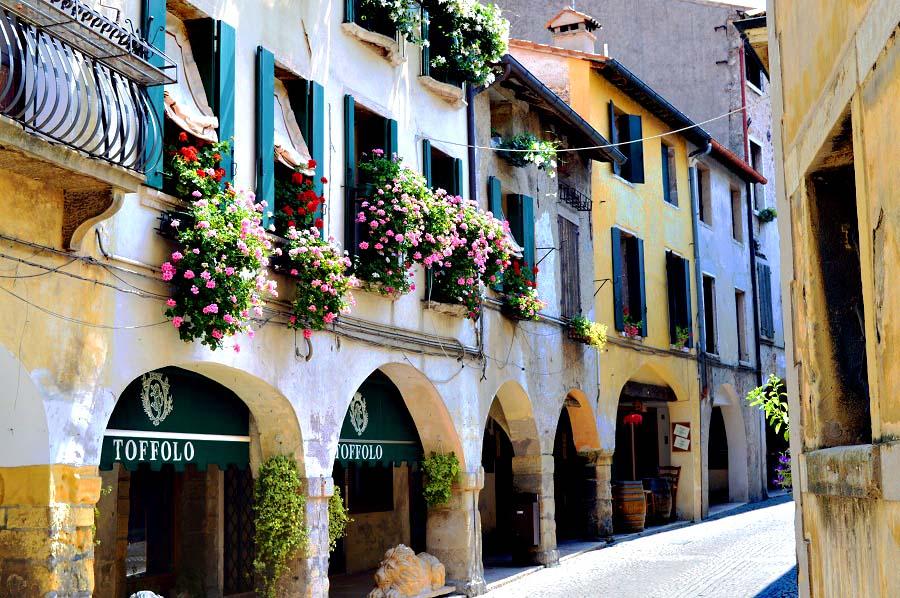 Street in Asolo