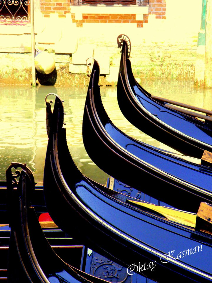 Four Venice Gondolas