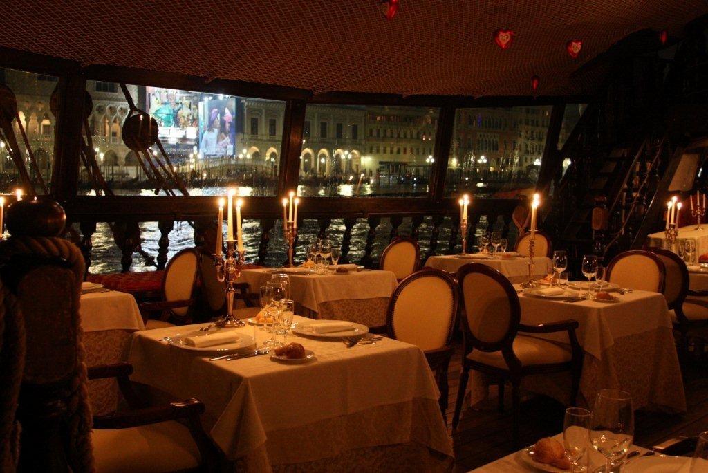 Dinner in Venice aboard a Venetian Galleon