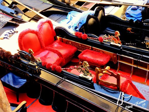 Inside a Gondola